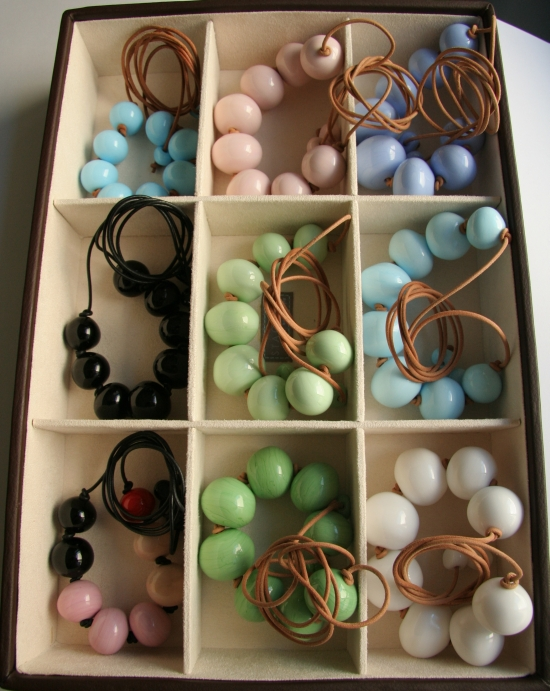 Box of necklaces